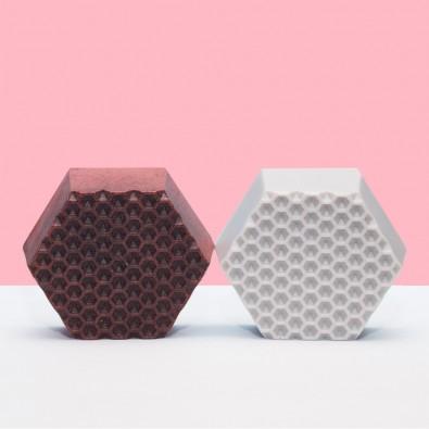 Мыло-скраб Honeycomb | Аромат малины и карамели