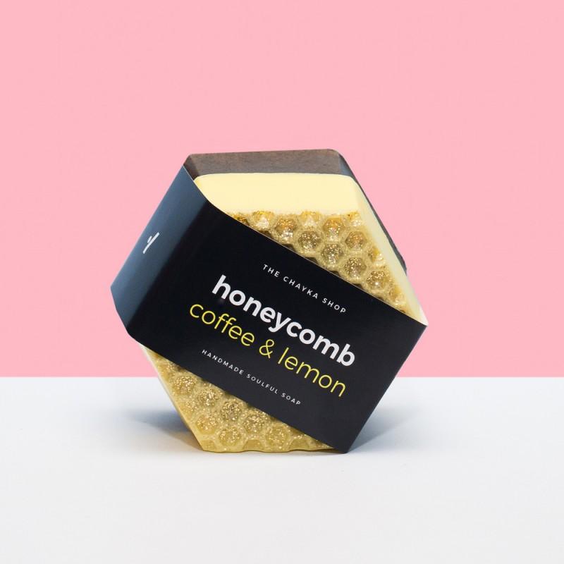 Мыло-скраб Honeycomb | Аромат кофе и лимона