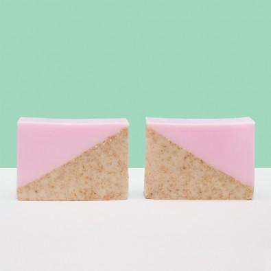 Мыло-скраб Oatmeal & Cherry | Аромат вишни