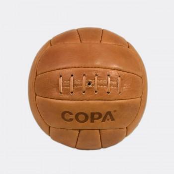Кожаный футбольный мяч COPA Retro 1950 коричневый