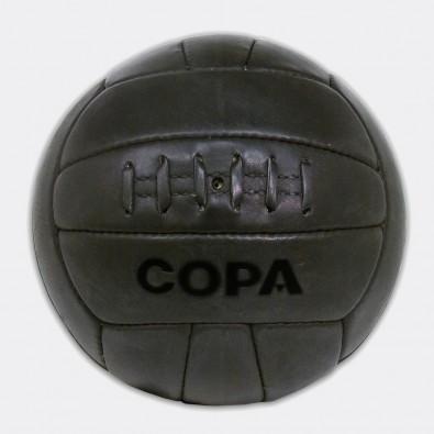Кожаный футбольный мяч COPA Retro 1950 черный
