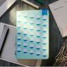 Блокнот с принтом Snowflakes формат А5