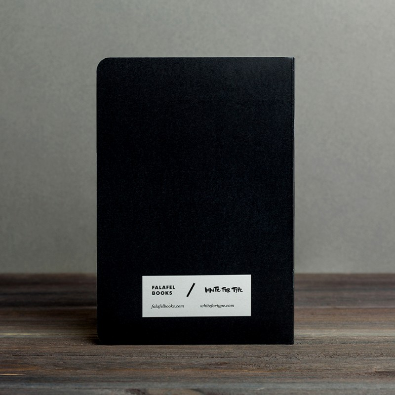 Блокнот с принтом Work harder формат А5