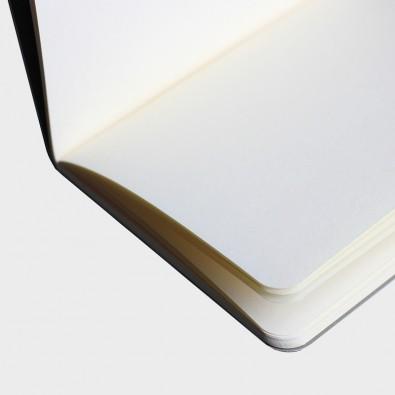 Блокнот Black формат А5 Soft-touch