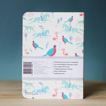Блокнот с принтом Fauna формат А6