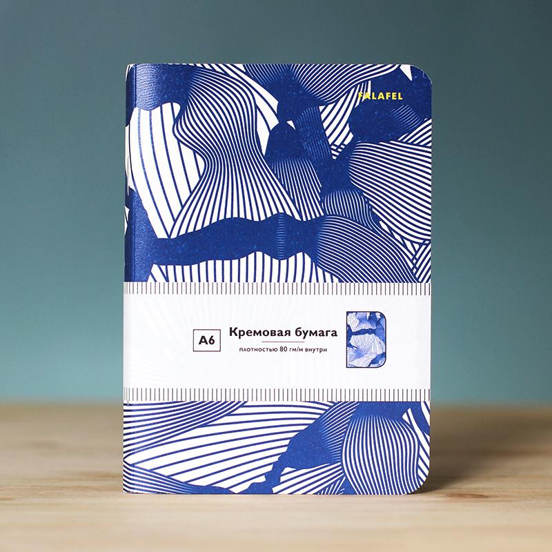Блокнот с принтом Handpoke формат А6