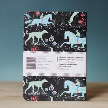 Блокнот с принтом Night Horses формат А6