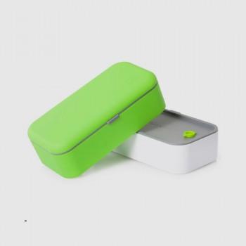 Ланчбокс MB Original зеленый с белым
