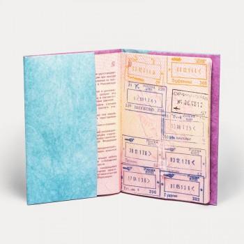 Обложка на паспорт NEW WALLET WAVE