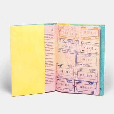 Обложка на паспорт NEW WALLET SUN