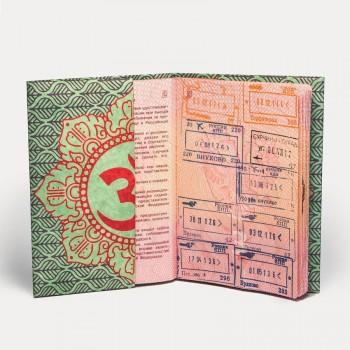 Обложка на паспорт NEW WALLET GANESHA