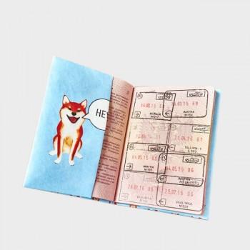 Обложка на паспорт NEW WALLET SHIBA