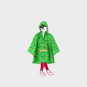 Дождевик-анорак детский Mini-Maxi зеленый
