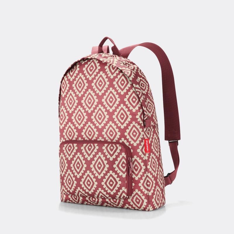 Рюкзак складной Reisenthel Mini maxi Diamonds красный