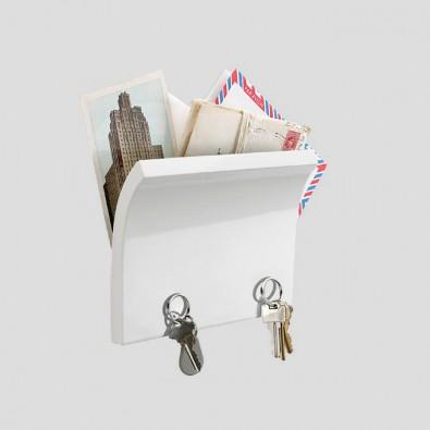Органайзер для ключей и писем Magnetter белый