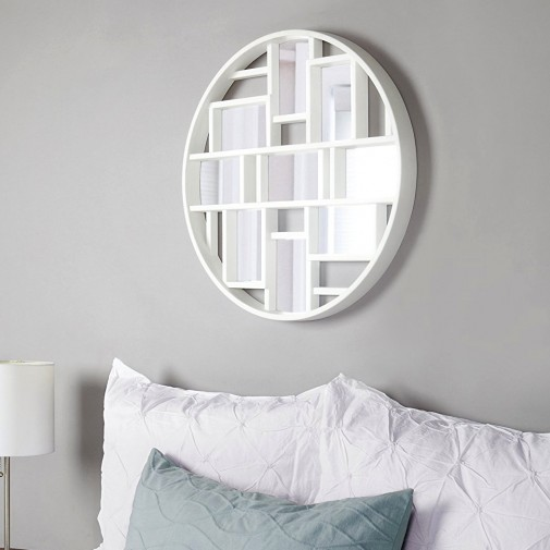 Панно для фотографий на стену Luna белое