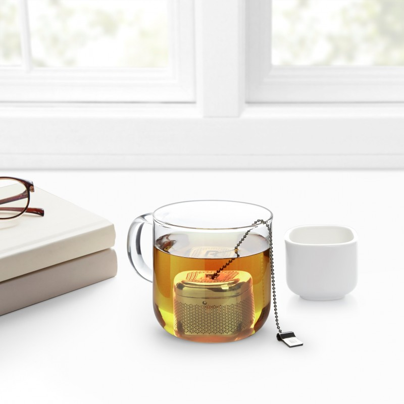 Емкость для заваривания чая с подставкой Cutea