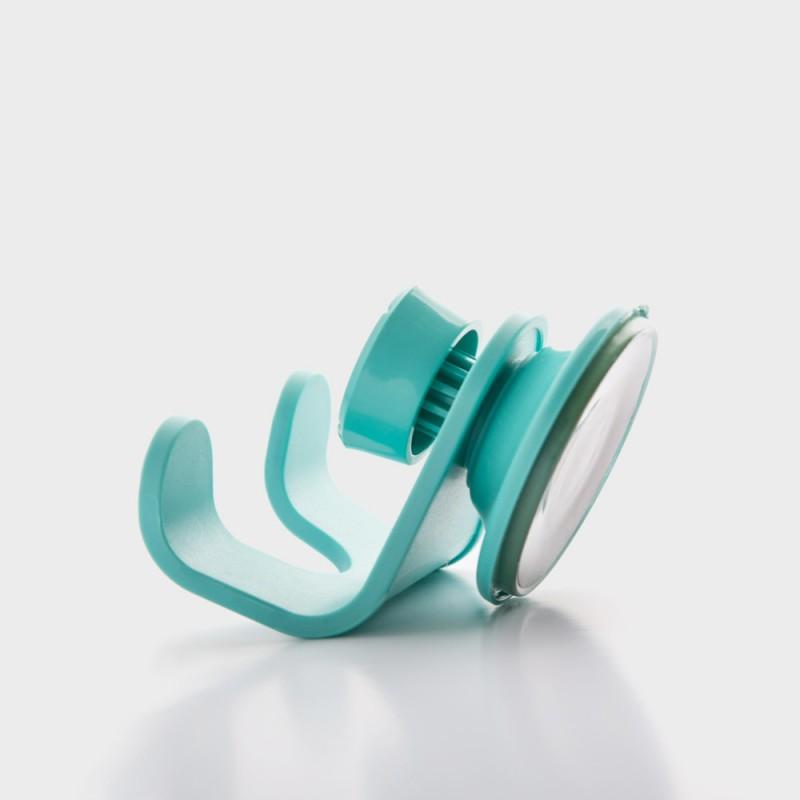 Крючок для душа Flex голубой