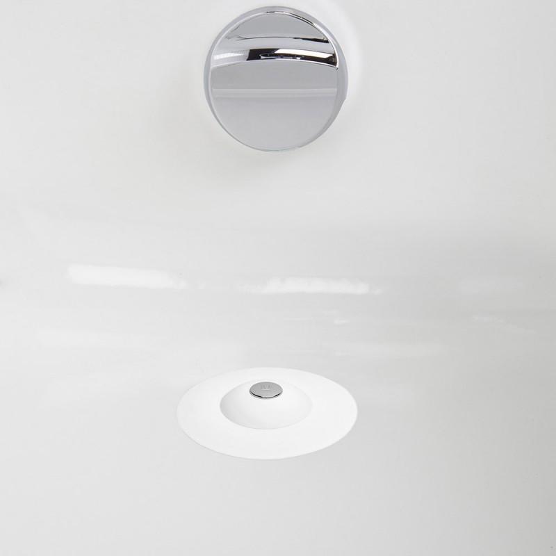 Фильтр для слива FLEX белый