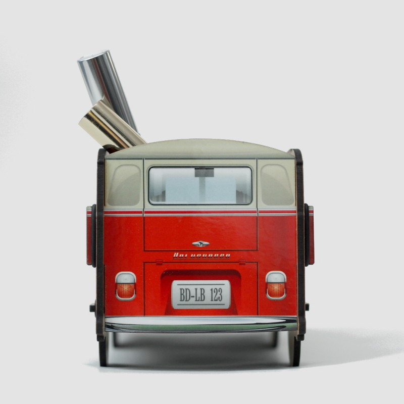 Настольный органайзер VW Camper (красный)