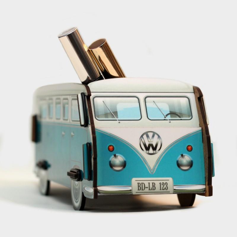 Настольный органайзер VW Camper (голубой)