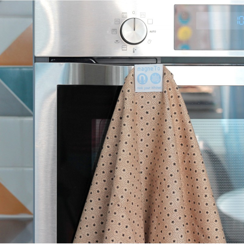 Набор магнитных кухонных полотенец (stars)
