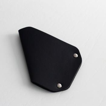 Кожаный держатель для карточек CardLovder (синий)