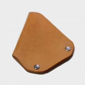 Кожаный держатель для карточек CardLovder (бежевый)