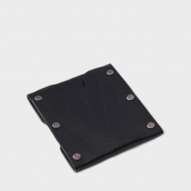 Кожаный кошелек / кардхолдер Dobb (черный)