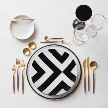 Набор керамических тарелок Edge