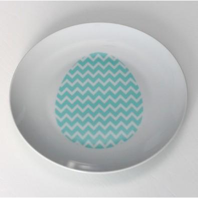 Набор керамических тарелок Egg