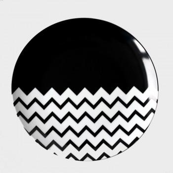 Набор керамических тарелок Waves