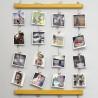 Панно для фотографий на стену Fotolder (желтое)