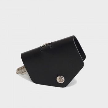Кожаная ключница Hoke (черная)