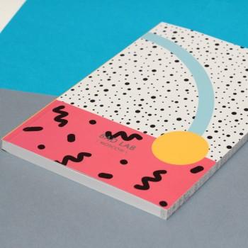 Блокнот нелинованный Sunset | А5 Soft-touch (желтый)