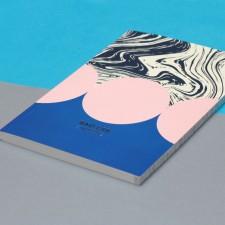 Блокнот нелинованный Flow | А5 Soft-touch (розовый)