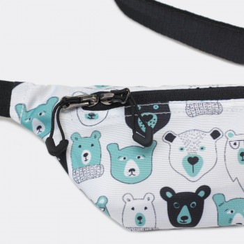 Сумка на пояс детская Bears